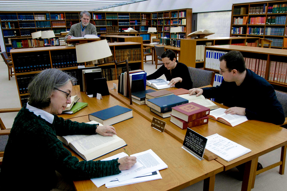 IAS scholars convene in the Historical Studies-Social Science Library