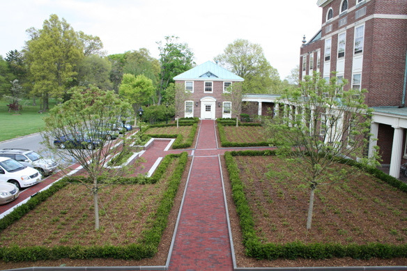 Fuld Hall Courtyard Renovation | Institute for Advanced Study