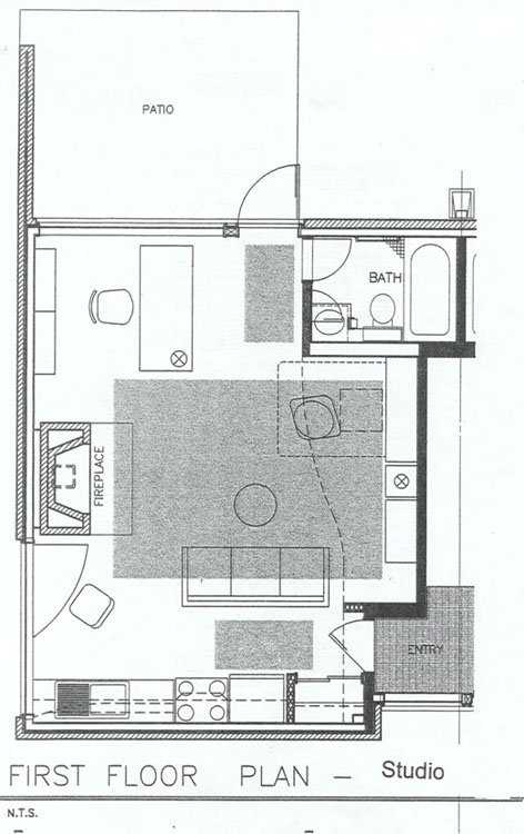 20x30 efficiency apartment layouts joy studio design Efficiency apartment floor plan