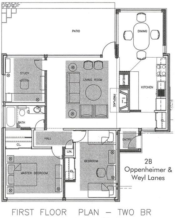 Campus Housing Apartment Floor Plans