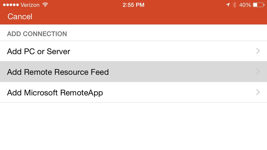 Remote Access - Apple iPhone - Anthem Service Desk