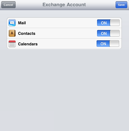 How to configure your Apple iPhone or iPad to sync with your