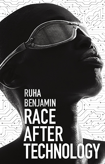 "Book cover for ""Race After Technology"" by Ruha Benjamin"