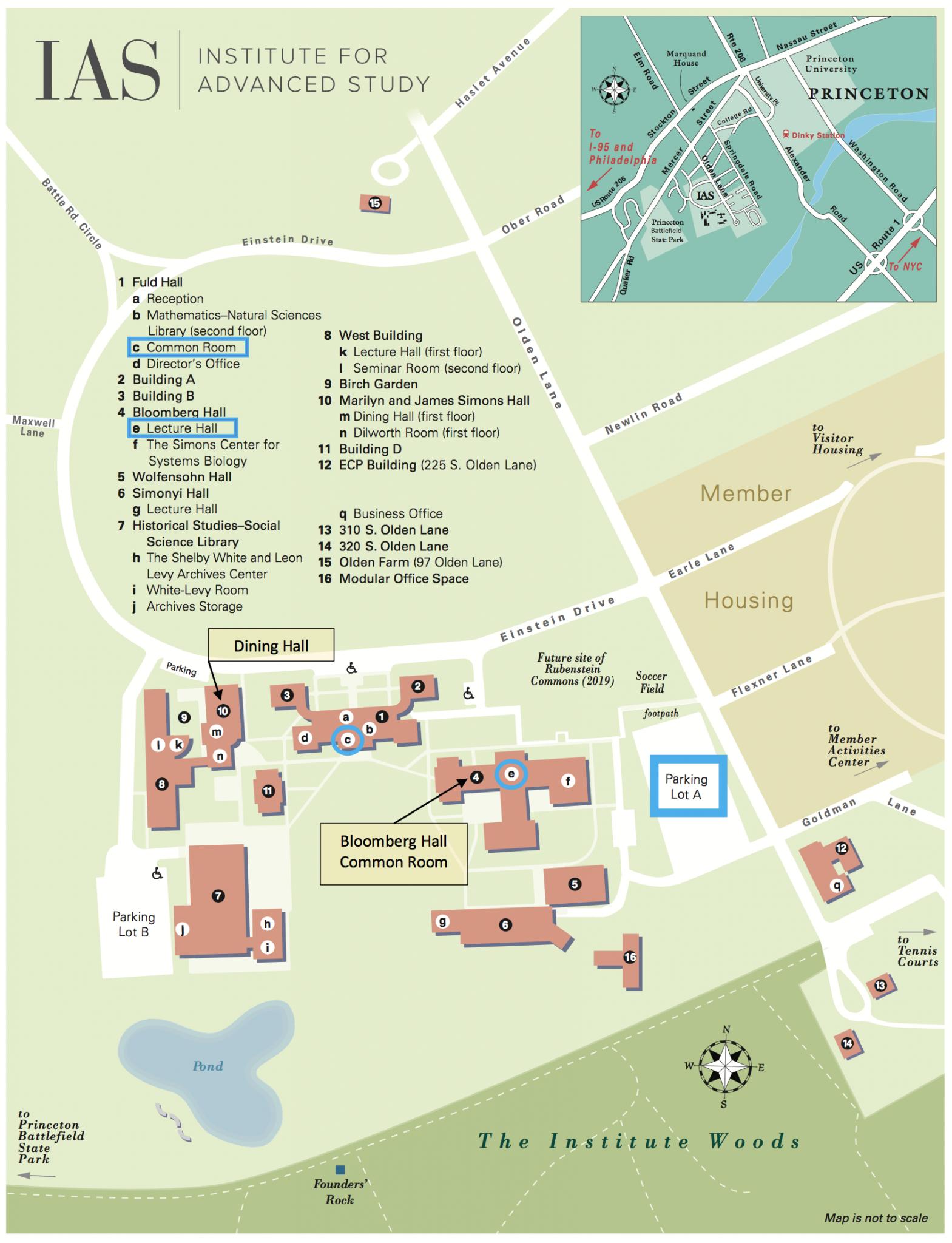 IAS Campus Map