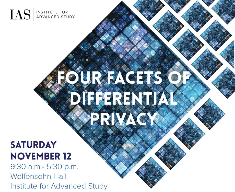 Four Facets of Differential Privacy