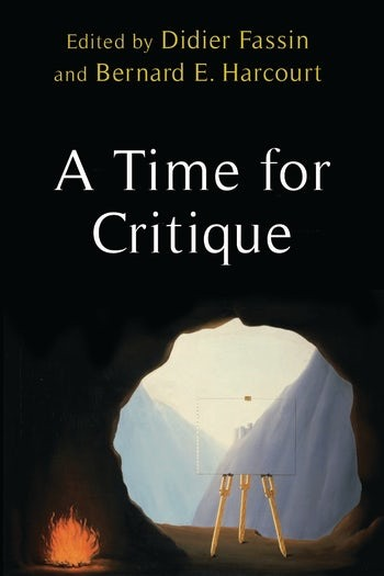 "Book cover for ""A Time for Critique"""