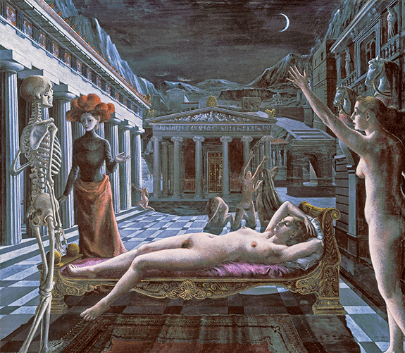 © TATE, LONDON 2015/© 2016 ESTATE OF PAUL DELVAUX/ARTISTS RIGHTS SOCIETY (ARS), NEW YORK