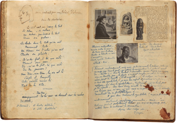 To Write As I Paint My Pictures Paul Gauguin As Artist Writer