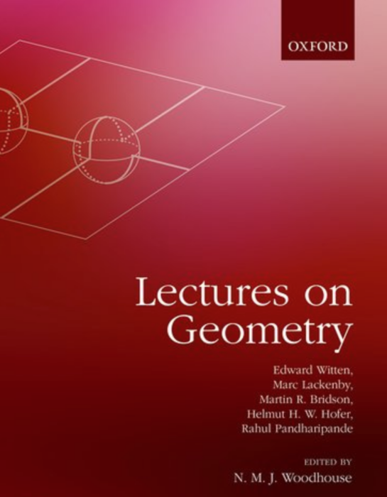 Lectures on Geometry | Institute for Advanced Study
