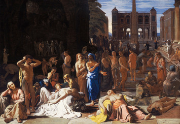 """""""Plague in an Ancient City"""" by Michael Sweerts"""