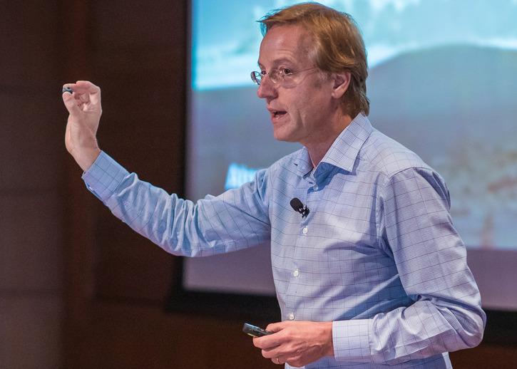 Robbert Dijkgraaf, IAS Director and Leon Levy Professor