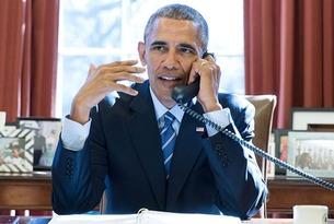 Portrait of Barack Obama