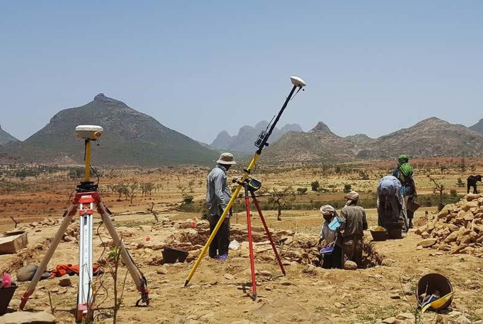 Archaeological site in Ethiopia